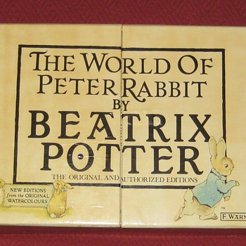 The World Of Peter Rabbit Collection By Beatrix Potter - Books