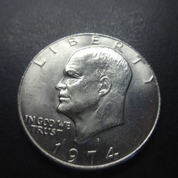 A- 1776 EISENHOWER SILVER DOLLAR COIN - US Coins