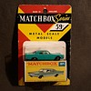 Many More Mothers Matchbox Monday MB 31 Lincoln Continental on Card 1969