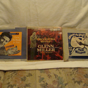 Son's of the Pioneers and other great swing band's - Records