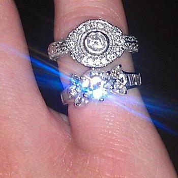 My grandmothers diamond rings  - Fine Jewelry