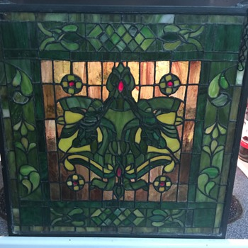 Stained glass piece - Art Glass