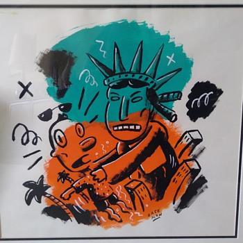Gary Baseman original - Fine Art