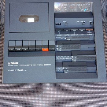 Yamaha TC-800 GL - Electronics