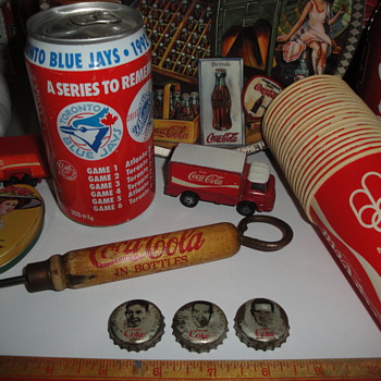 Some of my Coca Cola items - Coca-Cola