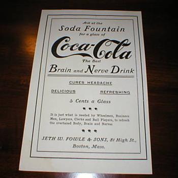 Maybe a coke ad?  - Coca-Cola