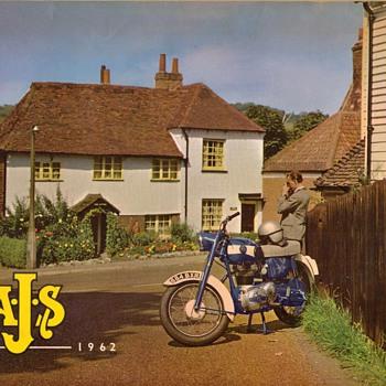 1962 - A.J.S. Motorcycles Sales Brochure - Paper