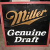 Vintage Miller Genuine Draft Sign
