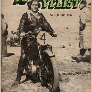 1954 - N. Z. Motor Cyclist Magazine - Paper