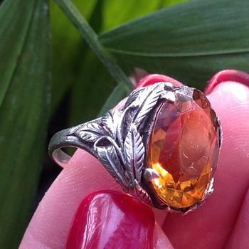 Bernard Instone Silver Ring - Fine Jewelry