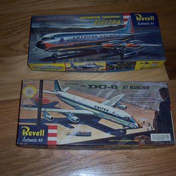 vintage Revell airplane models - Toys