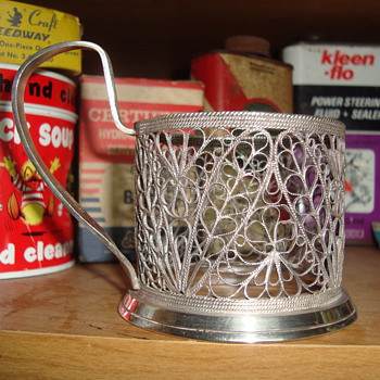 candle holder  ????????????? - Silver