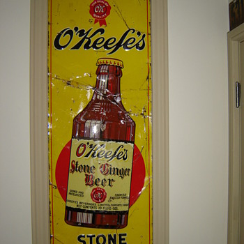 1920's or 30's O'Keefe's  Ginger Beer