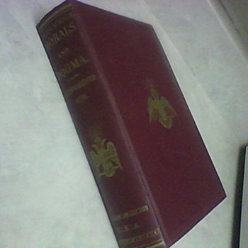 MORALS AND DOGMA RITES 1954 - Books