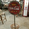 1947 Coca Cola Lollipop ( SLOW school zone)