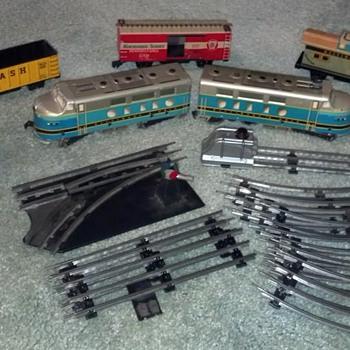 Marx tin train set - Model Trains