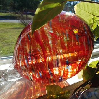 Glass Garden Globe - Art Glass