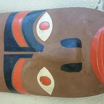 Ojibaway mask find