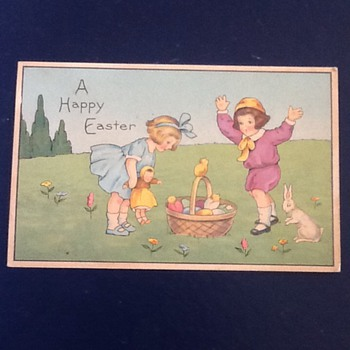 Vintage Easter post card  - Postcards
