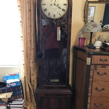 Regulator longcase clock - Clocks