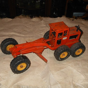 Vintage Tonka Road Grader 1970s - Model Cars