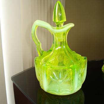 Fenton cactus 1959-1960 - Glassware