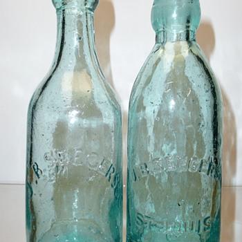 Seegers, Mehrkens & Wetter / St. Louis Bottlers - Bottles