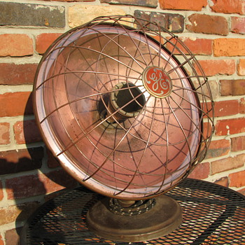 General Electric Radiant Heater - Art Deco