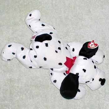 "1997 - TY Pillow Pal ""Spotty"" Dalmatian - Toys"