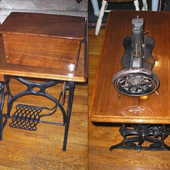 Oct. 14, 1865 Singer Treadle Sewing Machine - Sewing