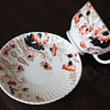 """LOVELY ANTIQUE TEACUP SAUCER """"GAWDY WELCH"""" ??"""
