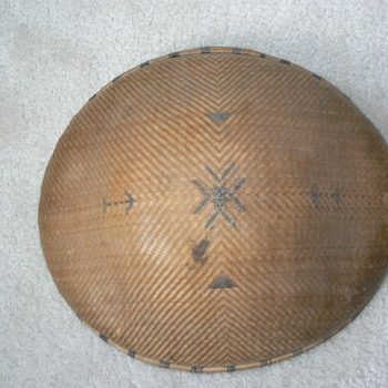 WWII era woven bamboo hat - military? - Hats