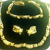 Vintage Necklace, Earring & Bracelet Set