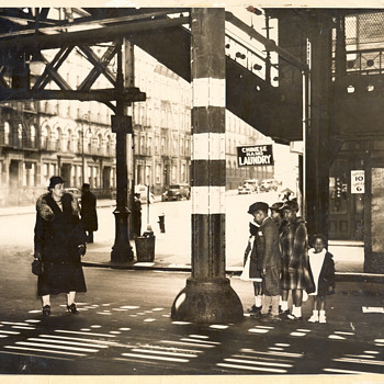 135th St and 8th Ave. Harlem, April 25, 1937 - Photographs
