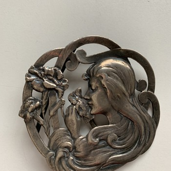Art nouveau silver Emile Dropsy - Art Nouveau
