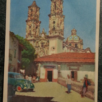 Postcard from Mexico City, 1949