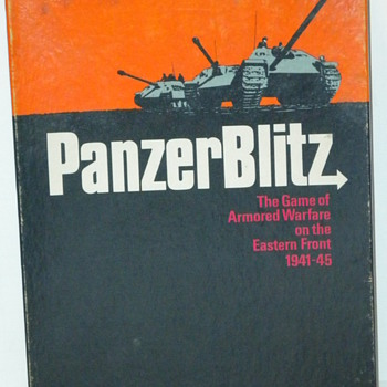 Panzer Blitz Board Game - Games