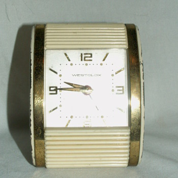 "1960's-70's  Westclox ""Wind-Up"" Alarm Clock ~ Bakelite - Clocks"