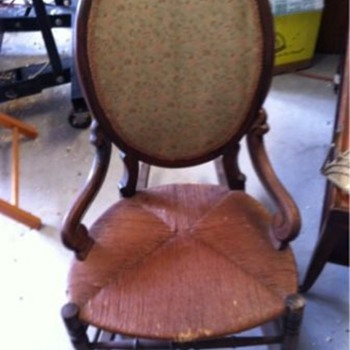 Does anyone know any thing about this rocking chair?  - Furniture