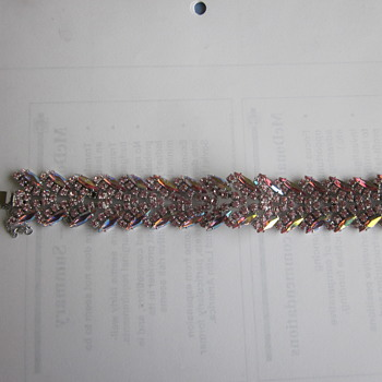 Pink Sherman Bracelet - Costume Jewelry