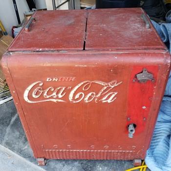 Cavalier Coca-Cola Cooler - Coca-Cola