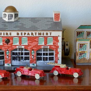 My Keystone Fire Station Playset
