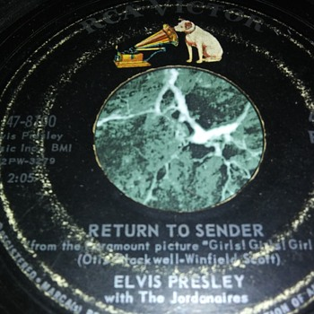 Mr. Elvis Presley...On 45 RPM Vinyl - Records