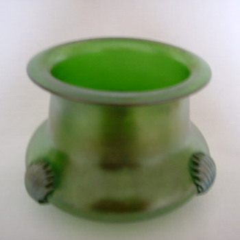 Kralik 'Blue Claw' Vase/Bowl/Cache-pot - Art Glass