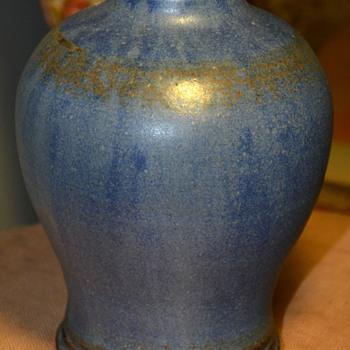 Wheel-thrown, Glazed Vase, Signed - Pottery