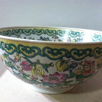 Big Chinese bowl - Asian
