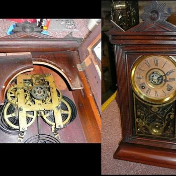 "Ingraham ""Acme"" Wood Case Mantel Clock Restoration - Clocks"