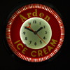 Vintage Arden Dairy Ice Cream Spinner CLock
