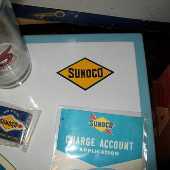 Sunoco Credit Card table - Petroliana