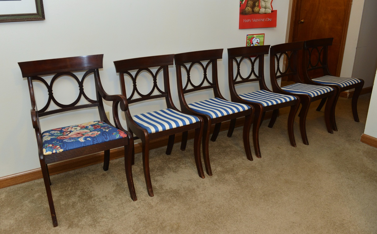 I Found A Set Of 6 Tell City Chairs Would Love To Learns Some